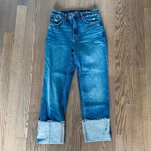 Abercrombie & Fitch Annie High Rise Jeans